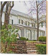 Rear Of Eisenhower Home In Gettysburg National Military Park-pennsylvania Wood Print