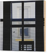 Rear Window 2 Wood Print