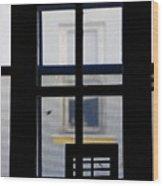 Rear Window 2 Wood Print