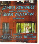 Rear Window, Grace Kelly, James Wood Print by Everett