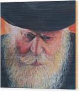 Rebbe Wood Print