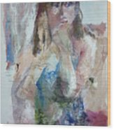 Rebecca Wood Print by Dorothy Herron