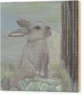 Rebekah's Garden Wood Print