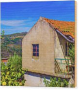 Rebordelo House Wood Print