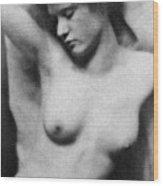 Reclining Nude, C1910 Wood Print