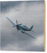 Reconnaissance Spitfire Flypast Wood Print