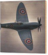 Reconnaissance Spitfire Pl965r Mkxi Wood Print