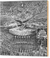 Reconstruction -- Civil War Era Wood Print