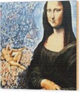 Reconstruction Of High Renaissance  Wood Print
