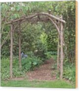 Recycled Arbor Wood Print