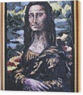 Recycled Mona Wood Print