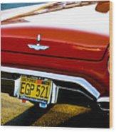 Red '57 T-brid Wood Print