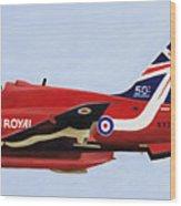 Red 6 - Xx227 Wood Print