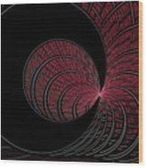 Red-addz Wood Print