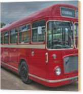 Red And White Rs 167 - Bristol Resl6l  #2 Wood Print
