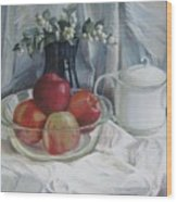 Red Apples Wood Print