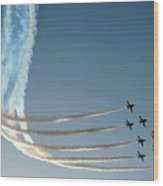 Red Arrows - 1 Wood Print by Graham Taylor