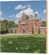 Red Brick Mansion Wood Print