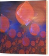 Red Bubble Suns Wood Print