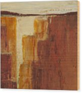 Red Canyon Wood Print