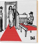 Red Carpet Security Wood Print