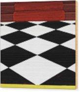 Red Carpet Treatment Wood Print