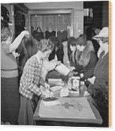 Red Cross, 1941 Wood Print