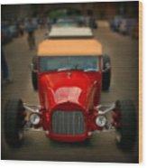 Red Custom Classic Wood Print