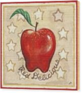 Red Delicious Two Wood Print