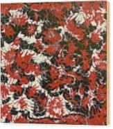 Red Devil U - V1cfs100 Wood Print