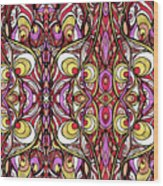 Red Eye Wood Print