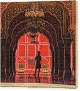 Red Gaurd Wood Print