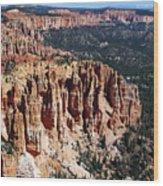 Red Hoodoos Of Bryce Canyon National Park Wood Print