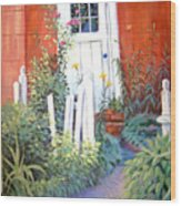 Red House Wood Print