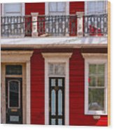 Red House-nola-marigny-2 Wood Print