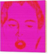 Red Kinski  Wood Print