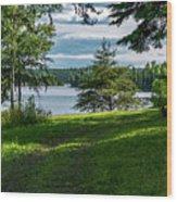 Red Lake Ontario 2 Wood Print