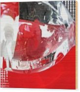Red Lantern And Soda Water 8 Wood Print