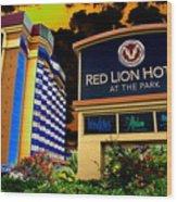 Red Lion Hotel In Spokane Wood Print