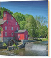 Red Mill Of Clinton New Jersey Wood Print