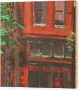 Red Ram, Georgetown, Co Wood Print