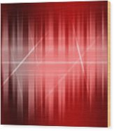 Red Rays Wood Print by Michael Tompsett