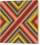 Red Razor Wood Print