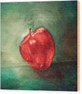 Red Red Apple Wood Print