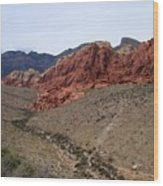 Red Rock Canyon 1 Wood Print