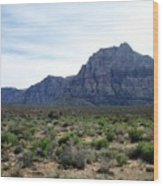 Red Rock Canyon 3 Wood Print