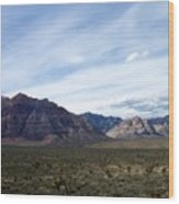 Red Rock Canyon 4 Wood Print