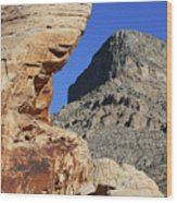 Red Rock Canyon Nv 2 Wood Print