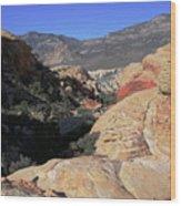 Red Rock Canyon Nv 7 Wood Print