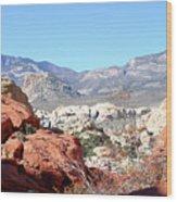 Red Rock Canyon Nv 8 Wood Print